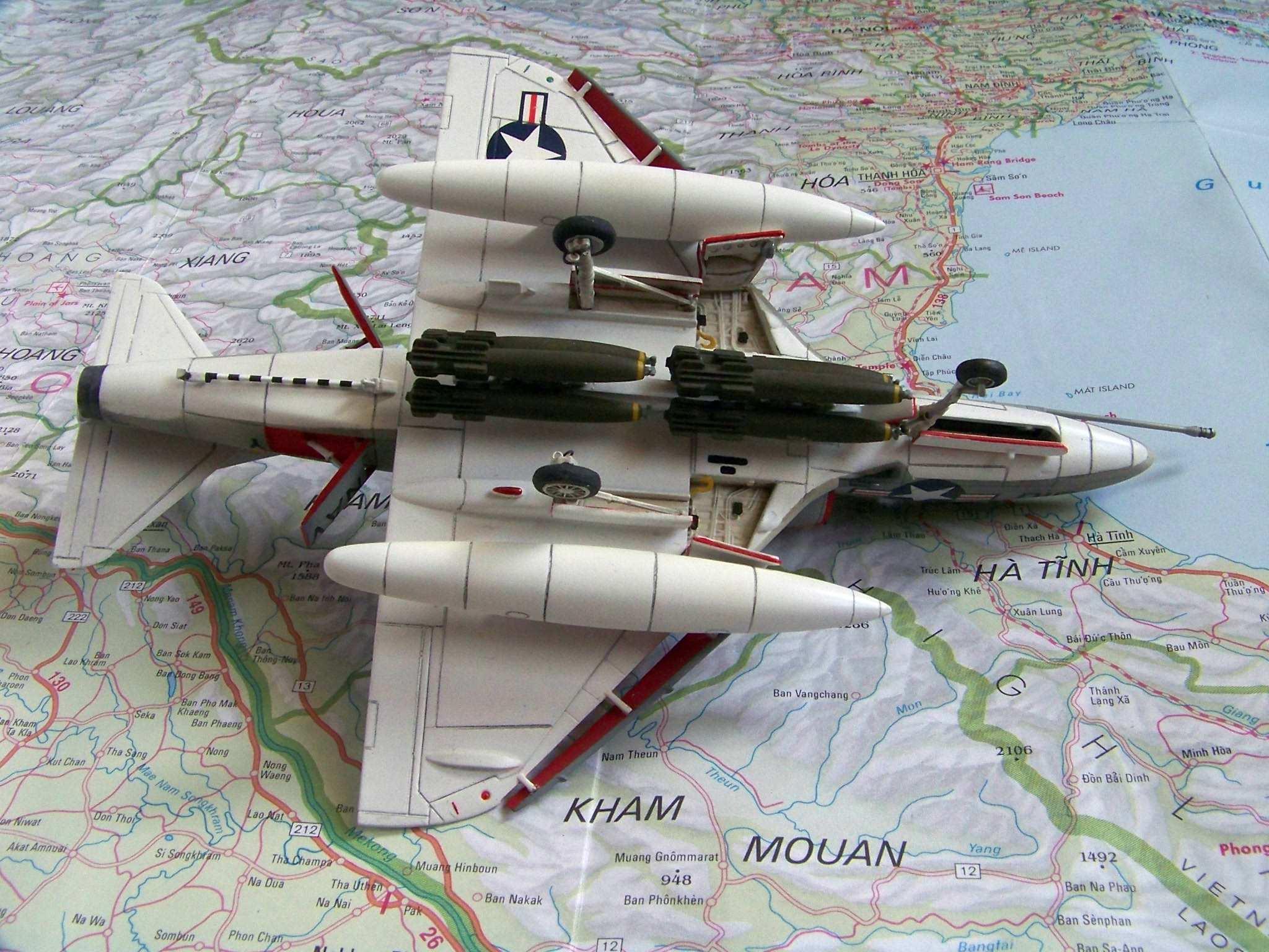 1:72 Airfix A-4B Skyhawk by Pawel