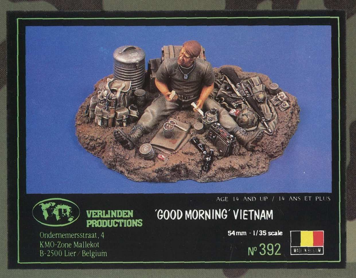 Verlinden 392 Good Morning Vietnam 1:35