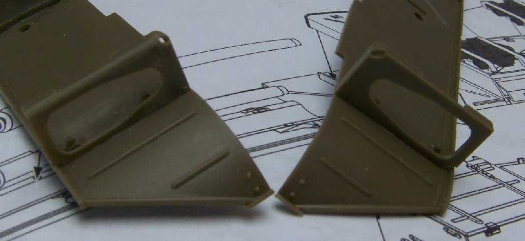 1:35 M42A1 Duster - fender