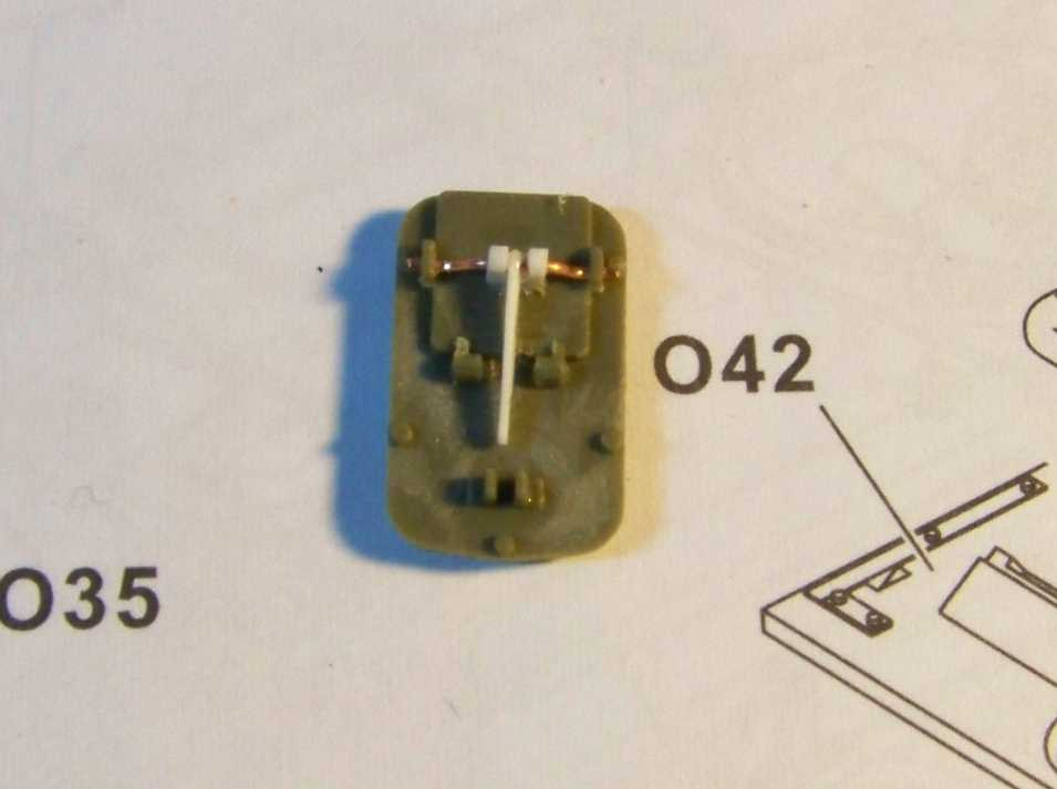 1:35 M42A1 Duster electrical connector cover