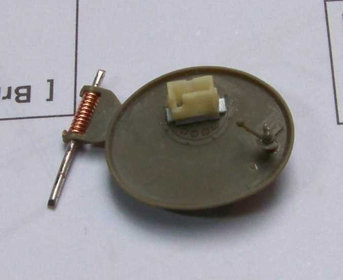 1:35 M42A1 Duster - track commander's hatch cover