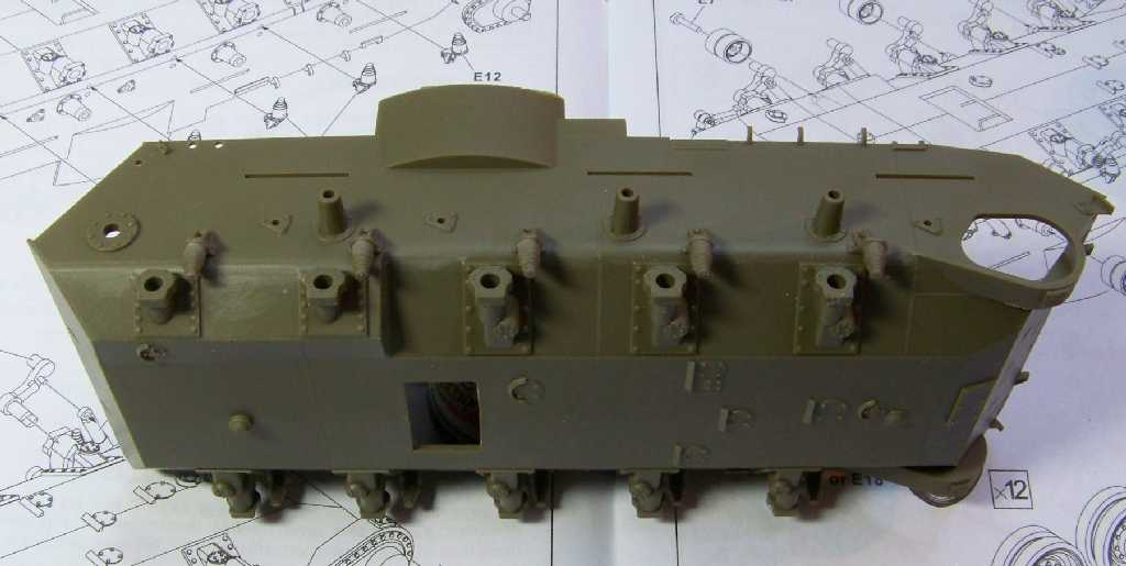1:35 M42A1 Duster lower hull