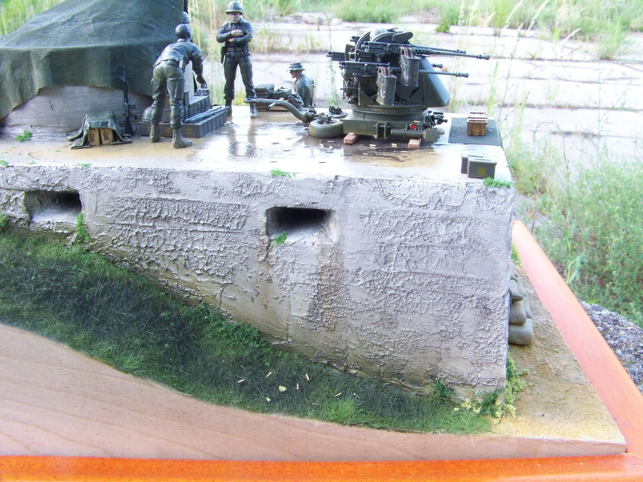 1:35 M55 Quad 50 diorama by Pawel