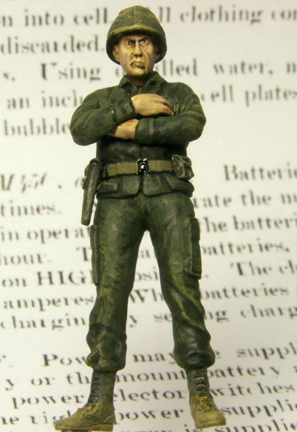 1:35 Vietnam Quad 50 Crew Chief