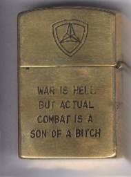 WAR IS HELL BUT ACTUAL COMBAT IS A SON OF A BITCH